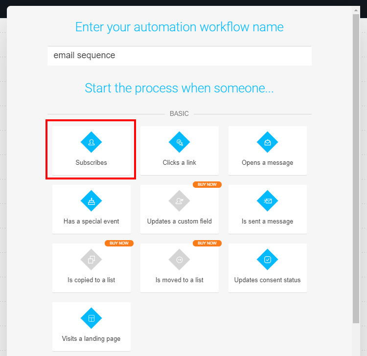 automation workflow name