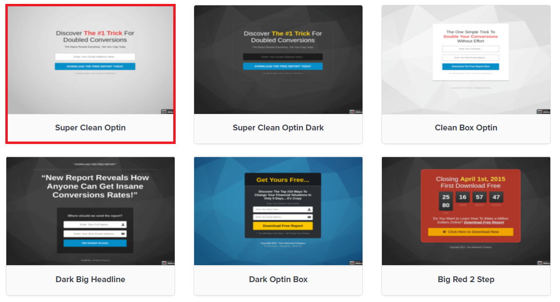 clickfunnels landing page software