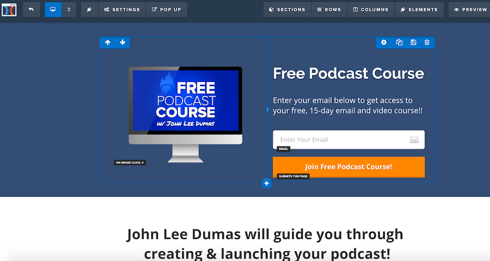 example landing page clickfunnels
