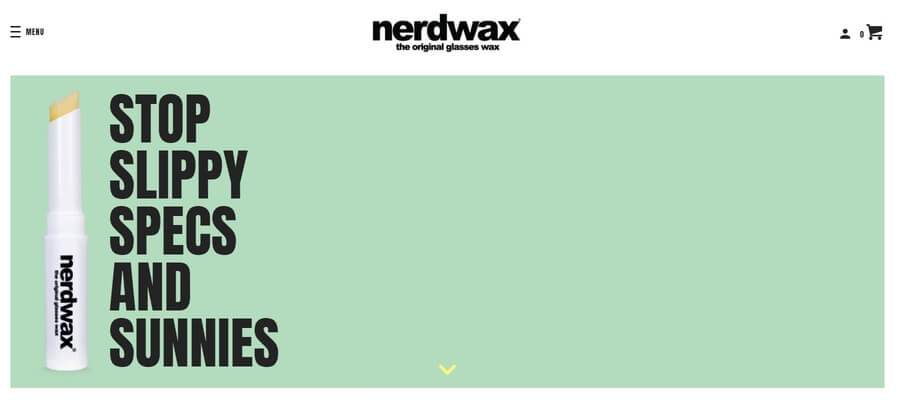 Nerd Wax keep your glasses on