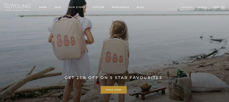 SoYoung bags made of sustainable materials