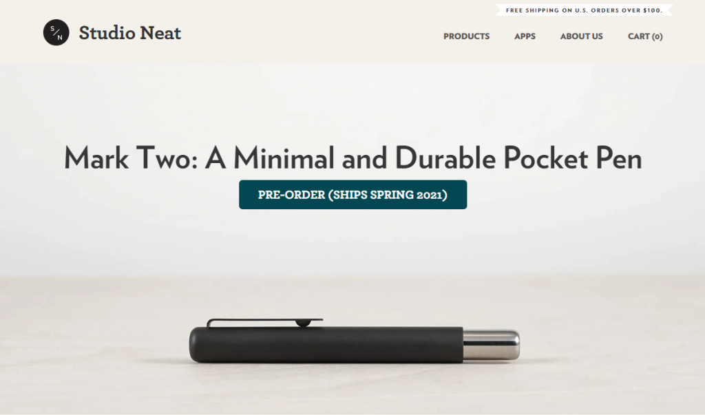 studio neat shopify idea